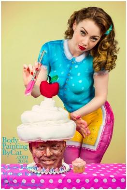 Paintopia Cupcake Al iced bpc