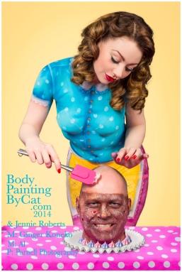 Paintopia Cupcake icing al bpc