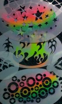 stencils for UV club painting.13