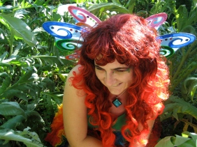 Me in Festival Face-Painting fairy outfit copy