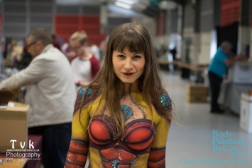 NorCon Iron Man girl 2016 evil walk bpc
