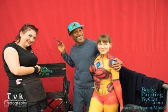 NorCon Iron Man girl 2016 the cat paints Gracie bpc