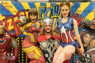 NorCon Iron Man girl 2016 thor lift joy bpc