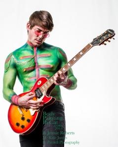 Paintopia Music promo SP beatles guitar bpc