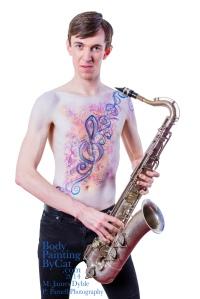 Paintopia Music promo SP classical sax bpc