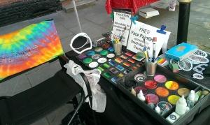 My setup kit halway through paint day south norfolk.22