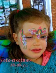 South Norfolk face flower fairy 2 cc
