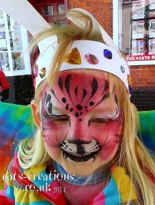 South Norfolk face pink tiger cc