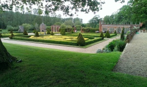Oxnead air ambulance booking formal gardens.40