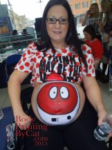 Red Nose Day Comic relief bump spaceman far bpc
