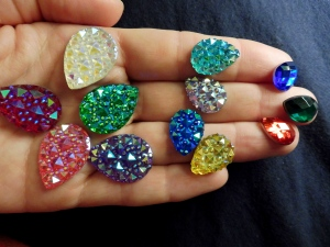 Bling for face n bodies by cat teardrops all on hand