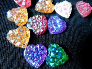 Face paint gems crystal hearts clse no logo