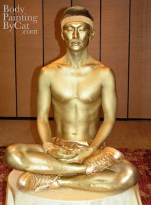 Gold Tennis buddha meditate bpc