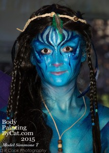 Paintopia documentary launch avatar bodypaint head bpc