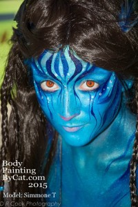 Paintopia documentary launch avatar bodypaint head in prog bpc