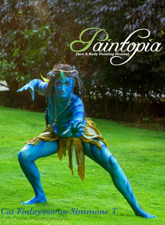 Paintopia documentary launch avatar bodypaint logo