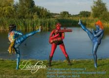 Paintopia documentary launch avatar hell girl mystique kick logo