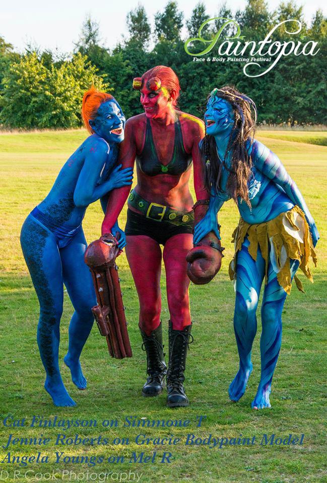 Paintopia Documentary Launch Bodypaint - Avatar/ Navi