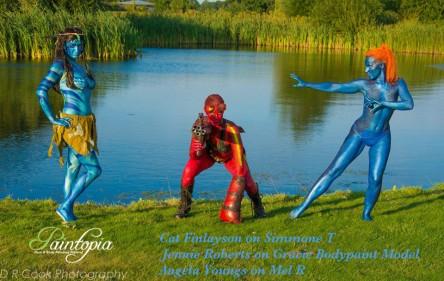 Paintopia documentary launch avatar hell girl mystique pond logo