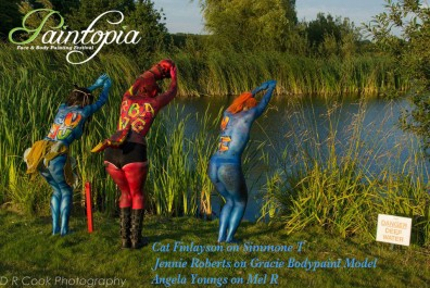 Paintopia documentary launch avatar hell girl mystique swim logo