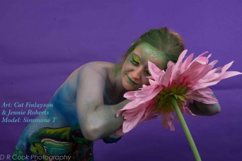 Drinkerbelle Tink Twisted fairytale bodypaint flwr snooze logo