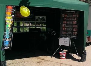 Gazebo set up kit banners farm day .21