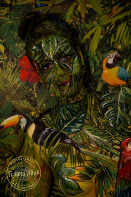 Urban Jungle kryolan face-2449