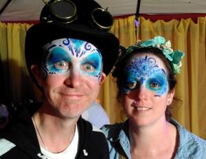 BA IOW TRO blue sugar skulls.37