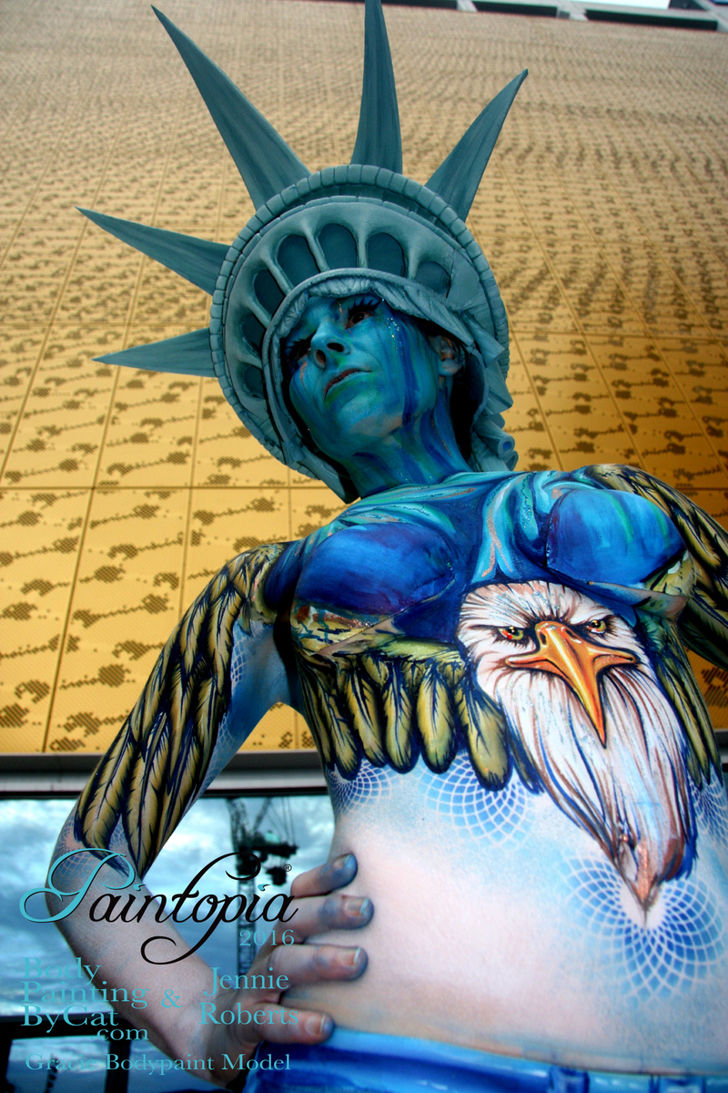 Professional Beauty North Usa Bodypaint Demo Sept 2016 By Bath Bristol Body Artist Body Painting By Cat