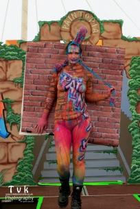 MY paintopia bodypaint grafittit wall tvk