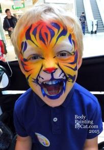 Chapelfields 10th bday blue tiger bpc
