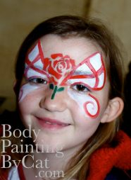 England butterfly facepaint bpc