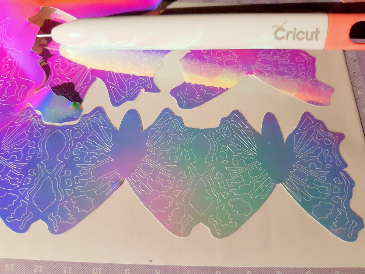 Cricut butterfly bodypaint Opal.56