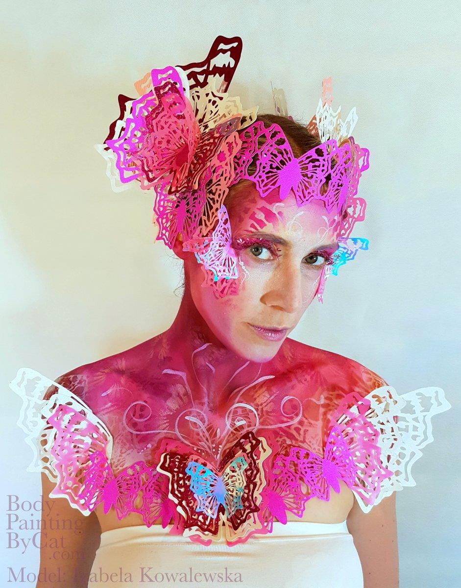 Cricut Butterfly Fairy look bpc