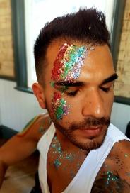 PRIDE London rainbow bowie etc glitter bpc