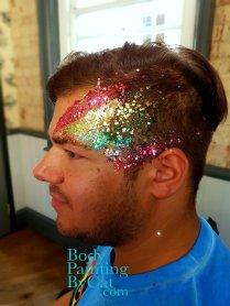 PRIDE London rainbow glitter eye bpc