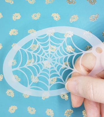 Web stencil held.33